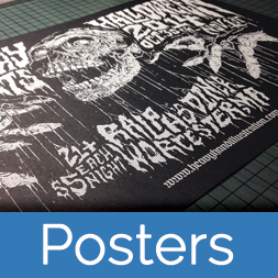 poster screen printing service