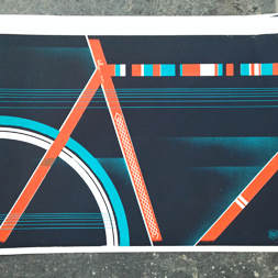 18x24 posters for brad woodard and artCrank 2013