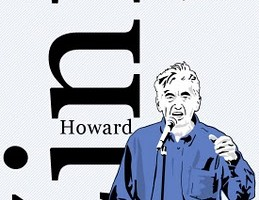 Howard Zinn commissioned poster by Jay LaCouture