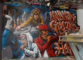 AuksOne mural at UGHH