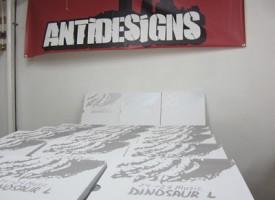 dinosaur L Screen Printed Boxes