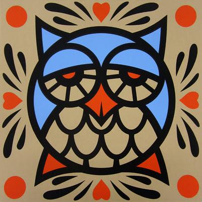 Evoker Owl Print - final print