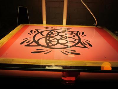 Evoker Owl Print - screen burning