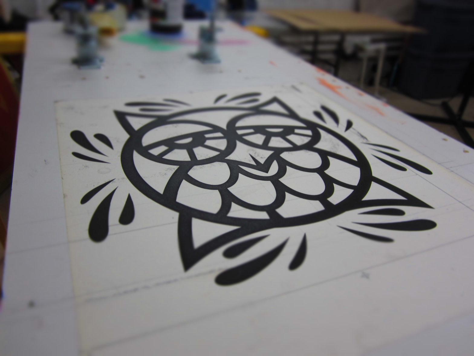 evoker owl print