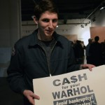 Cash for your Warhol paper print