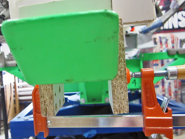 Screen printing clamps are expensive, this was not.