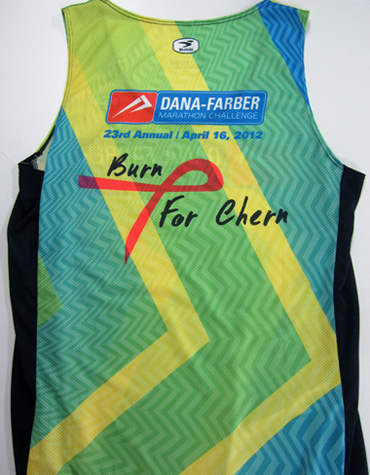 custom Boston Marathon jersey